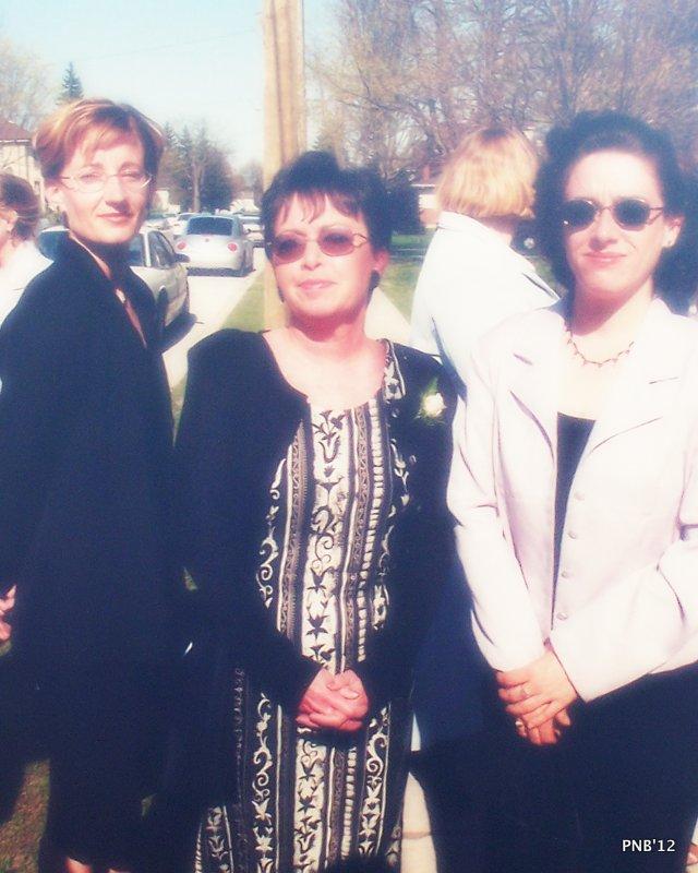 Genevieve, Mom and I