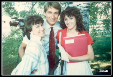 You may recognize that guy in the middle - I was 16 (right) working at that same Newspaper -- I did that for 2 summers