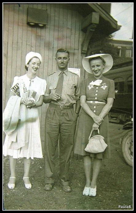 At the train station during WW2 - thetemenosjournal.com