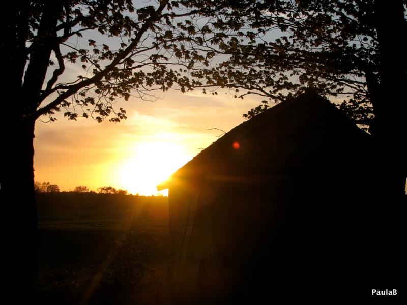 Lots of beautiful sunsets