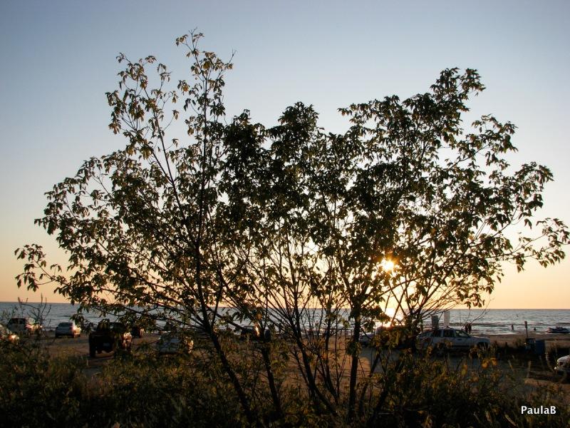Sunset at Sauble Beach, Ontario