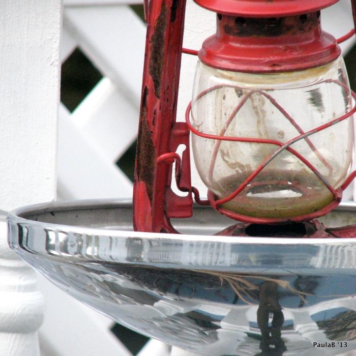 A Red Lantern