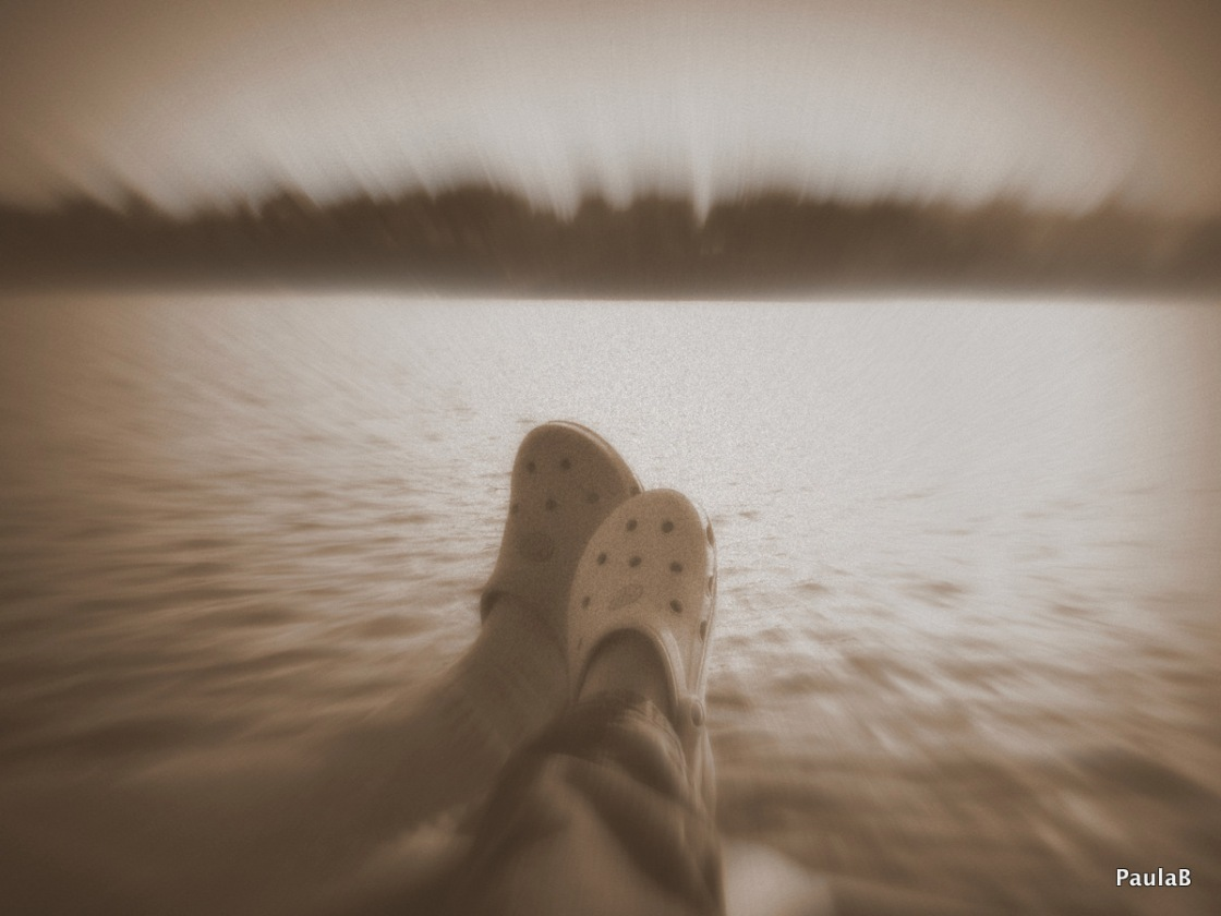 Two Shoes @ the lake