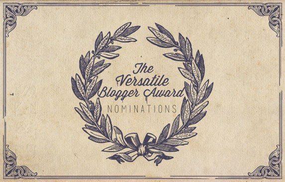 Versatile Blogger Nomination