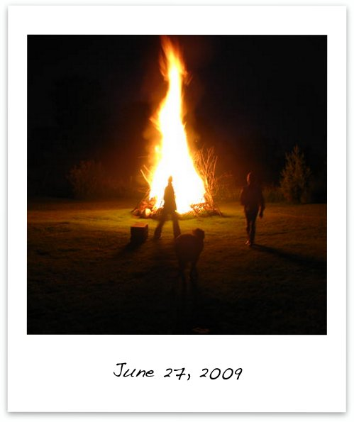 Giant Bonfire