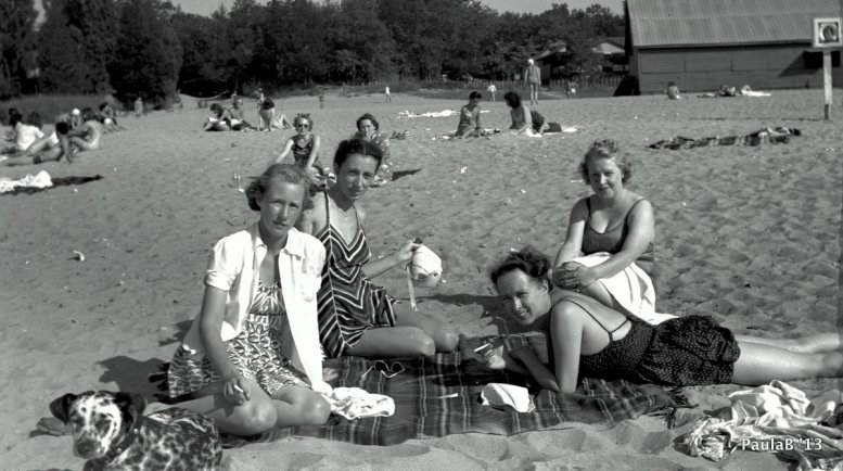 Grandma Was a Beach Bum