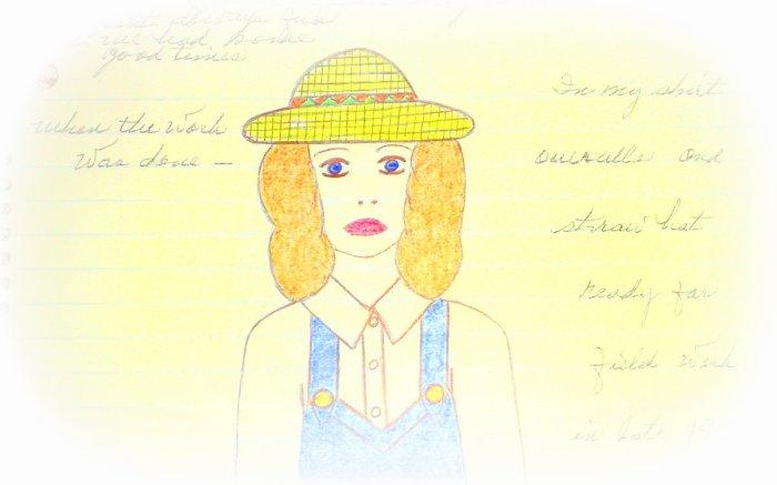 My Carolina Grandma - Drawing