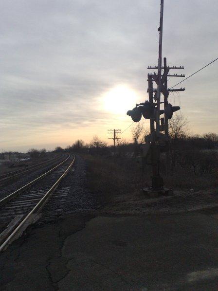 A Railway Crossing