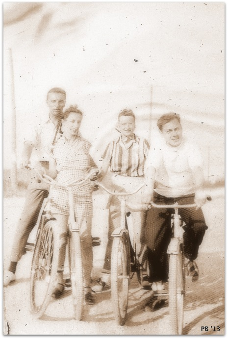 Bicycling in the late 1930's