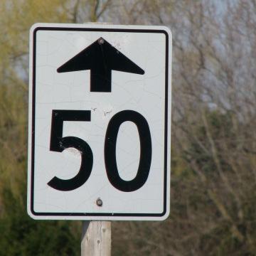 50 ahead