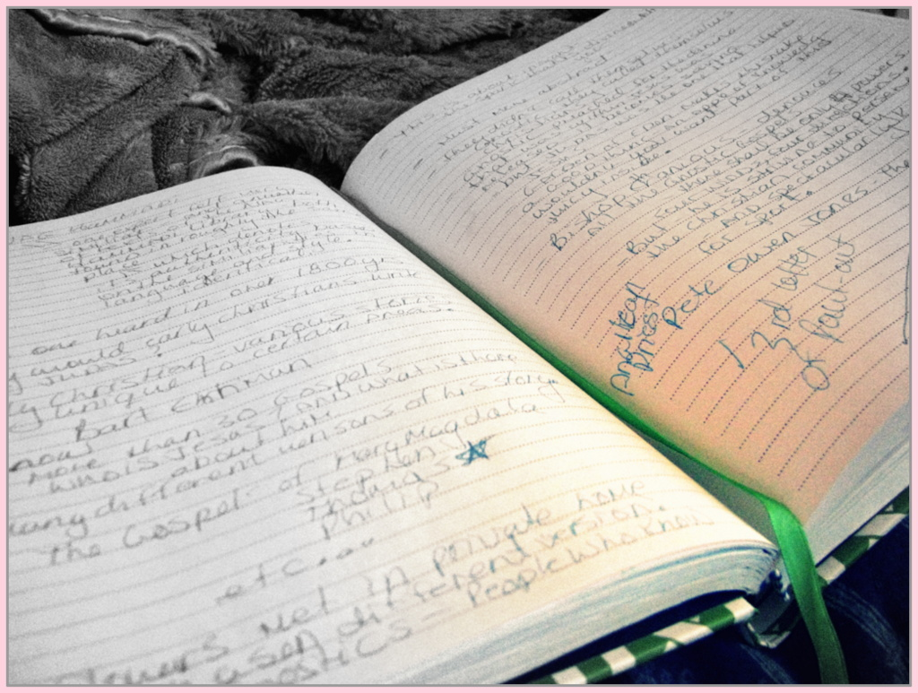 Notes in my Journal