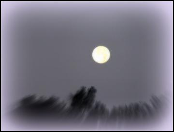 The Moon Over Irish Lake
