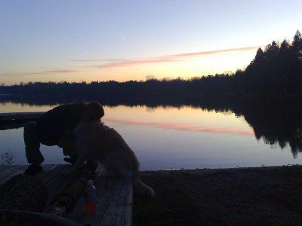 Irish Lake, One Night