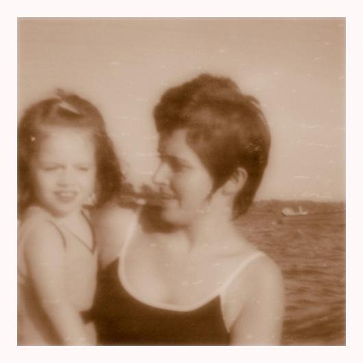 Mom and I 1972
