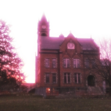 dawn over the normal school