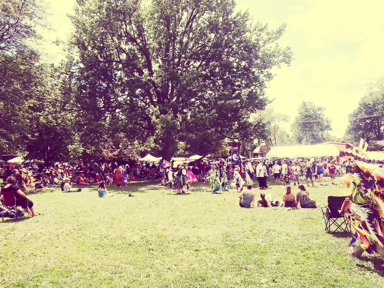 Pow-wow On The Green