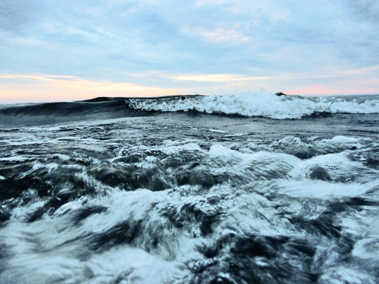waves on a lake