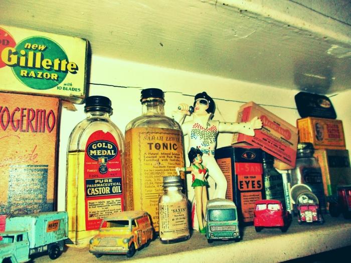 elvis on the shelf