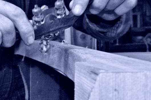 wood shavings