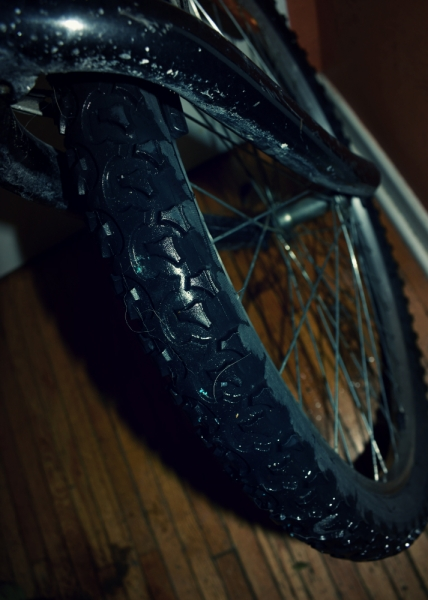 wet bike tire