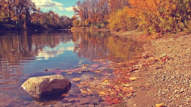 On A Rock In The River - thetemenosjournal.com