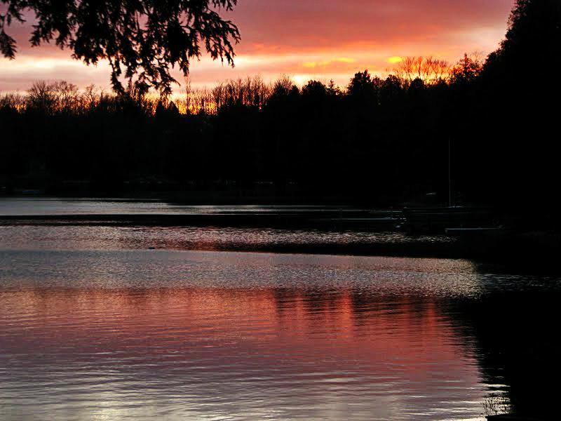 Irish Lake At Sunset - thetemenosjournal.com