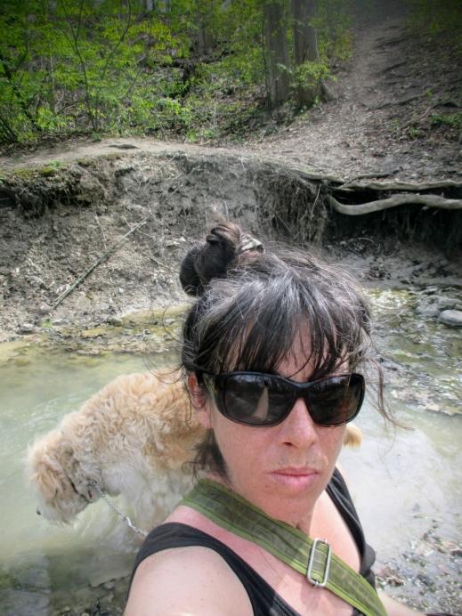 in the woods selfie - thetemenosjournal.com